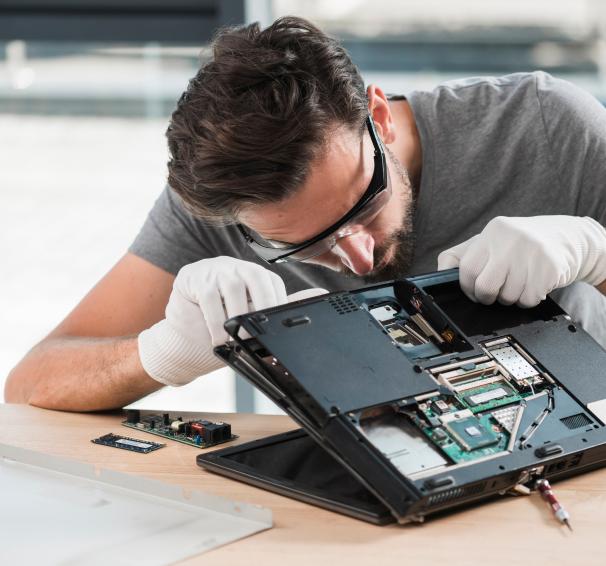 Damaged Laptop Repair