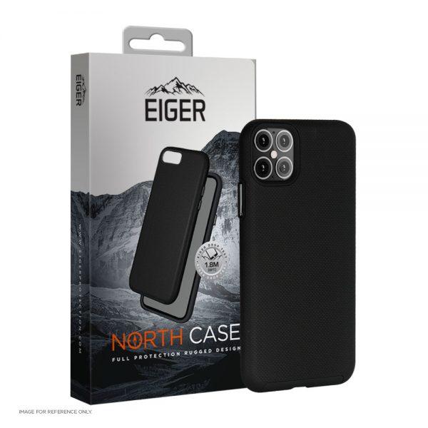 "Eiger North Case iPhone 12 Pro Max, 6.7"" (2020) Black"