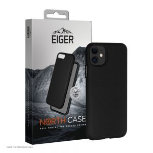 "Eiger North Case iPhone 12 & 12 Pro, 6.1"" (2020) Black"