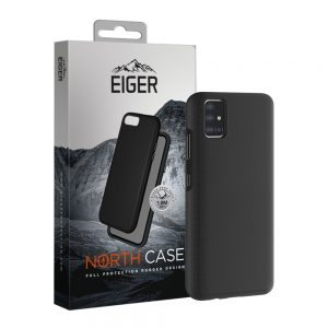 Eiger North Case Samsung A41 Black
