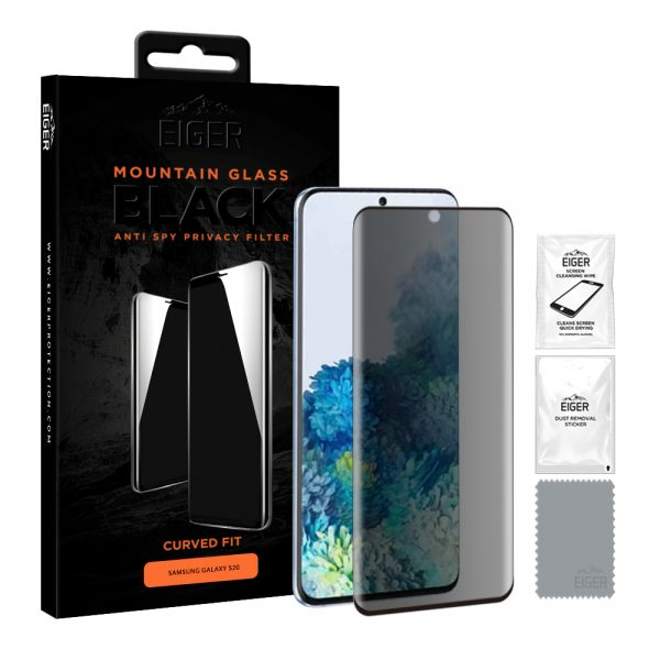 Eiger Privacy Screen Protector Samsung S20