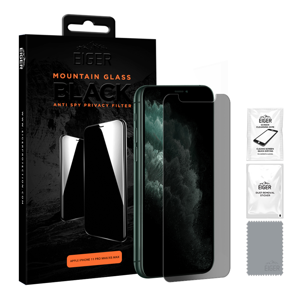 Eiger Privacy Screen Protector Iphone 11 Pro Max/ XS Max