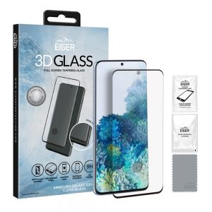 Eiger Glass Screen Protector Samsung S20+ Clear/Black
