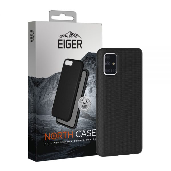 Eiger North Case Samsung A71 Black