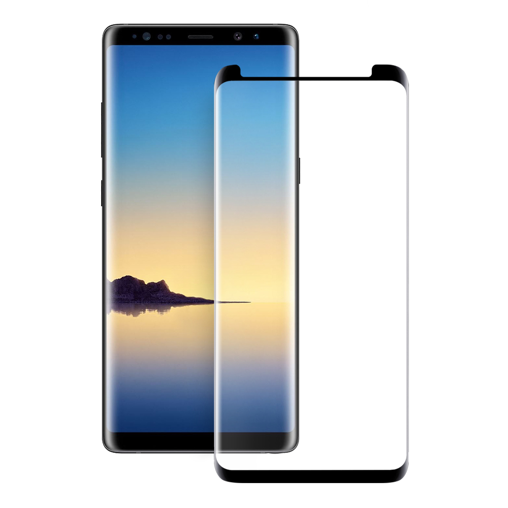 Eiger Glass Screen Protector Glass Samsung Note 9 Clear/Black