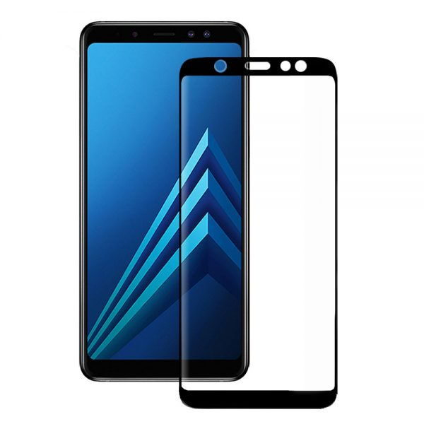 Eiger Glass Screen Protector Samsung A6 (2018) Clear/Black