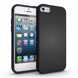 Eiger North Case iPhone 5/S/SE Black