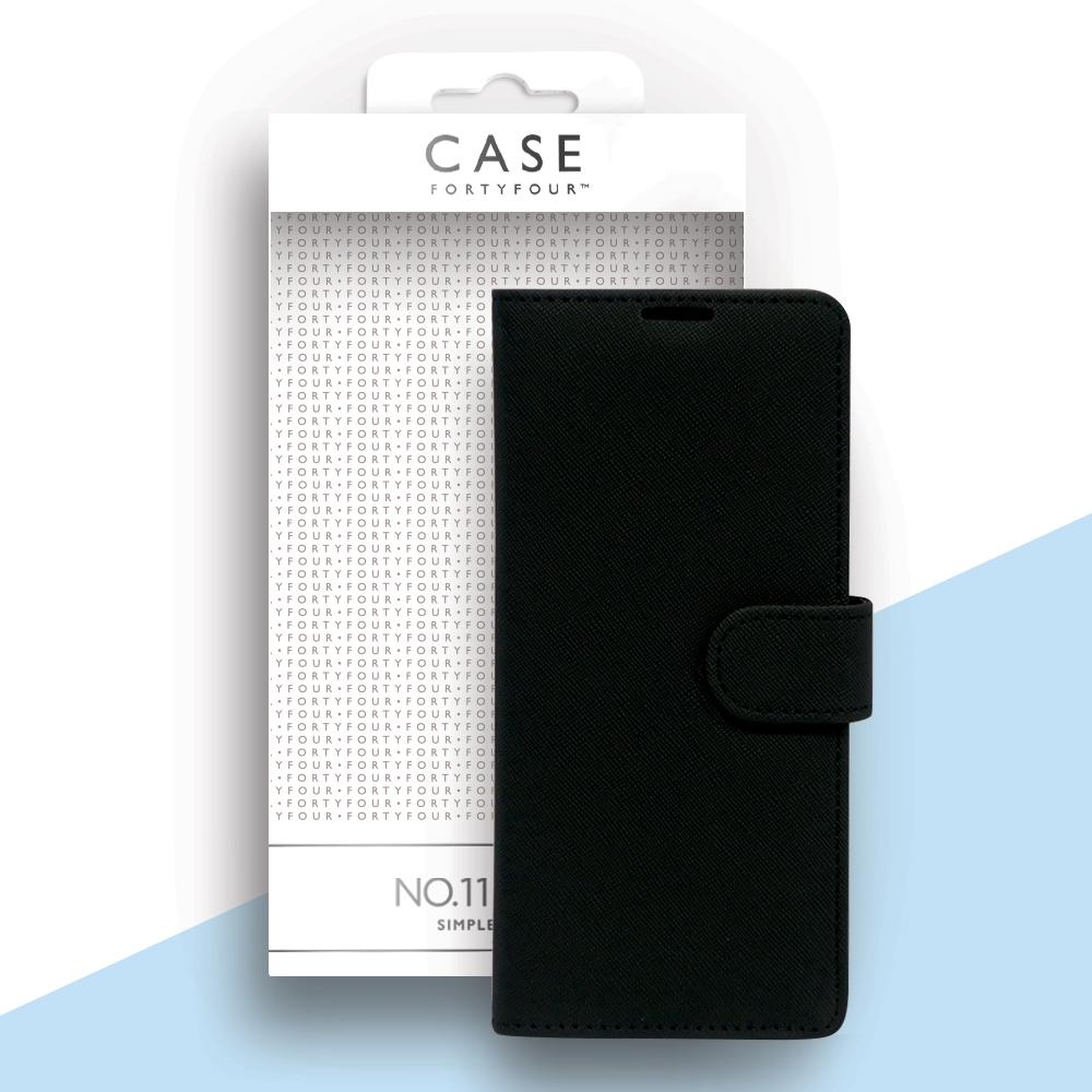 Case 44 No.11 Samsung Note 20 Ultra Cross Grain Black