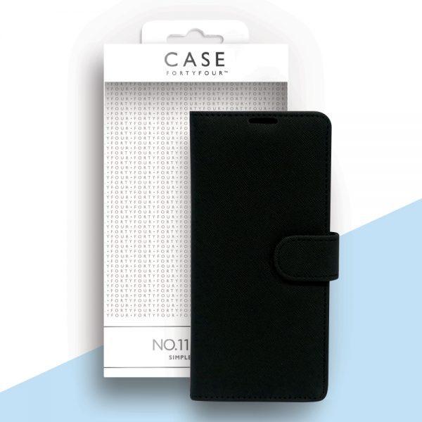 Case 44 No.11 Samsung Note 20 Cross Grain Black