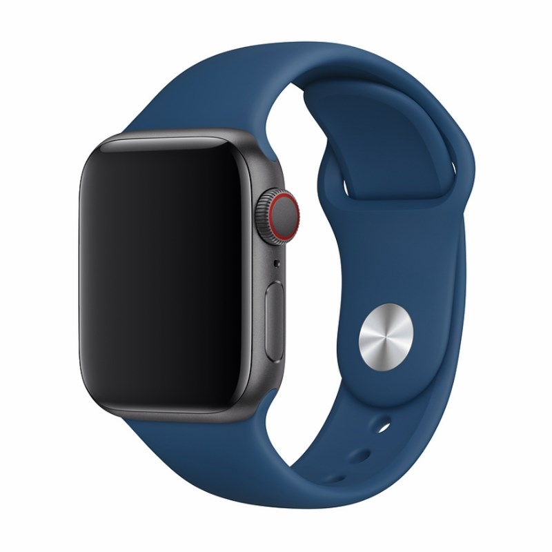 Devia Silicone Strap for Apple Watch (38mm/40mm) Blue