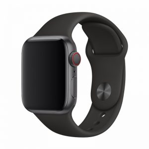 Devia Silicone Strap for Apple Watch (38mm/40mm) Black