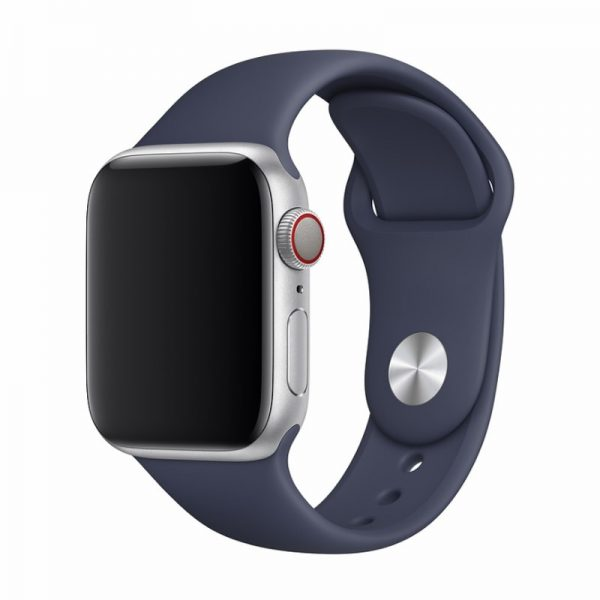 Devia Silicone Strap for Apple Watch Midnight Blue