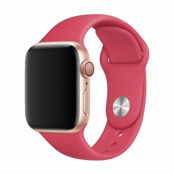 Devia Silicone Strap for Apple Watch Red