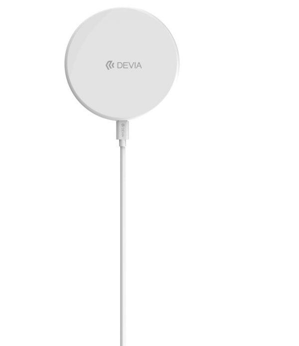 Devia , 10W Wireless Ultra Slim Charging Pad , White