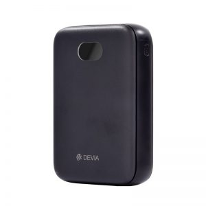 Devia 10,000 mAH Dual Port Power Bank Black