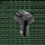 Devia FM Wireless BT Transmitter USBPort Car Adapter Black