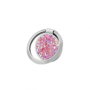 Devia - Phone Ring - Diamond - Silvery Pink