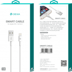Devia - 2m (2.1A) USB to Non-MFi Lightning Cable - White