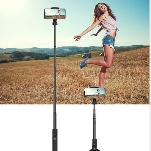 Devia - Bluetooth Selfie Stick & Tripod - Black