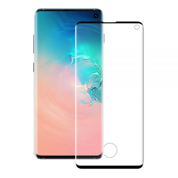 Eiger Glass Screen Protector Samsung S10 Clear/Black