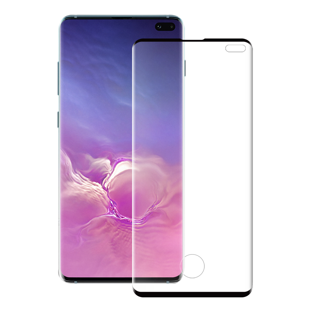 Eiger Glass Screen Protector Samsung S10+ Clear/Black