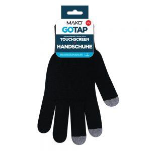 MAKO GOTAP Touchscreen Gloves in S/M in Black