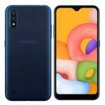Samsung Galaxy A01 Blue