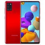 Samsung Galaxy A21s Red