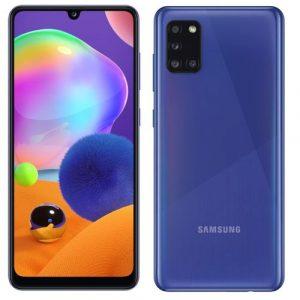Samsung Galaxy A31 blue