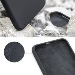 Xquisite Silicone for iPhone SE/8/7 - Black