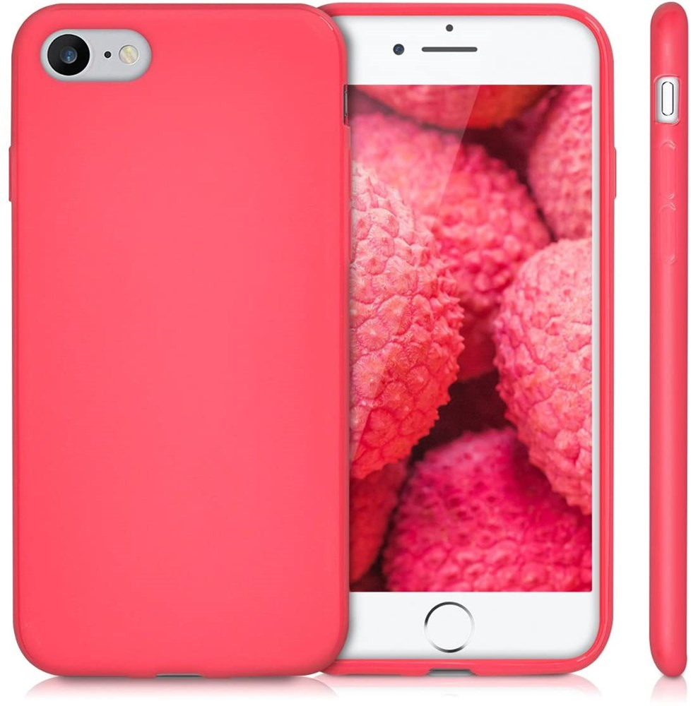 Xquisite Silicone for iPhone SE/8/7 - Hot Pink