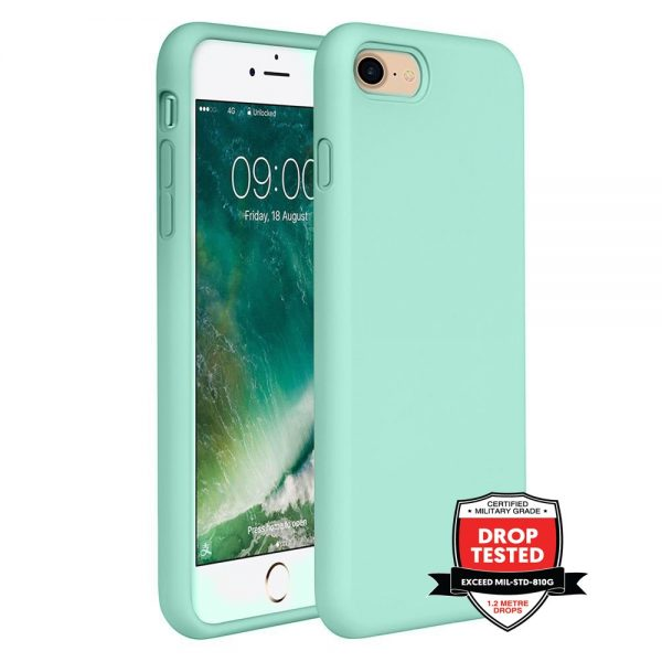 Xquisite Silicone for iPhone SE/8/7 - Mint