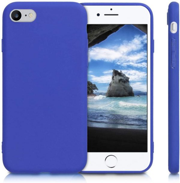 Xquisite Silicone for iPhone SE/8/7 - Neon Blue