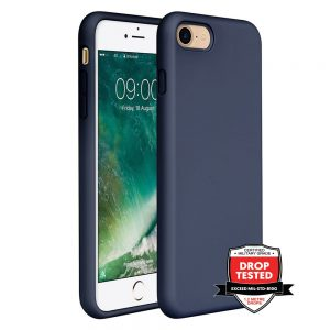 Xquisite Silicone for iPhone SE/8/7 - Navy