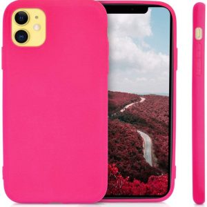 Xquisite Silicone for iPhone 11 - Hot Pink