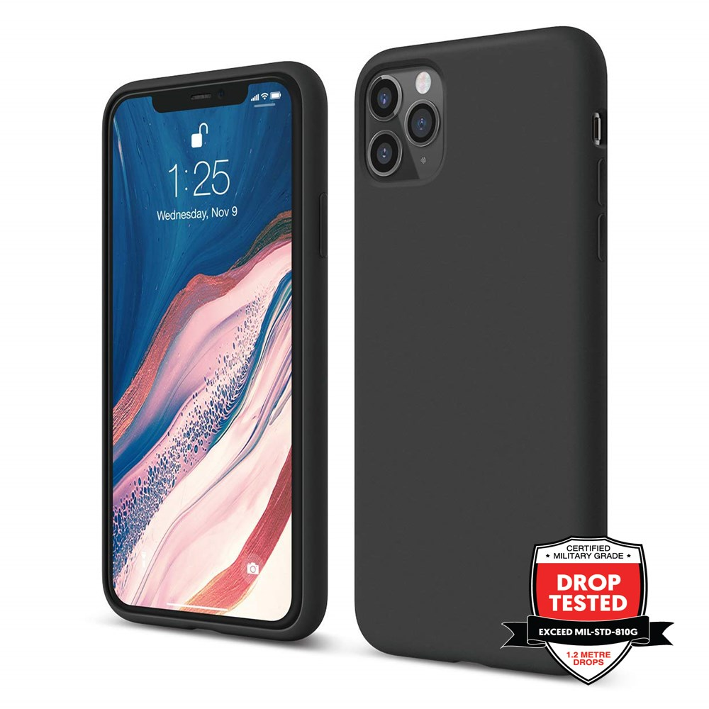 Xquisite Silicone for iPhone 11 Pro Max - Black
