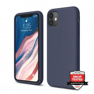 "Xquisite Silicone for iPhone 12 & 12 Pro 6.1"" - Navy"