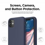 """Xquisite Silicone for iPhone 12 & 12 Pro 6.1"""" - Navy"""