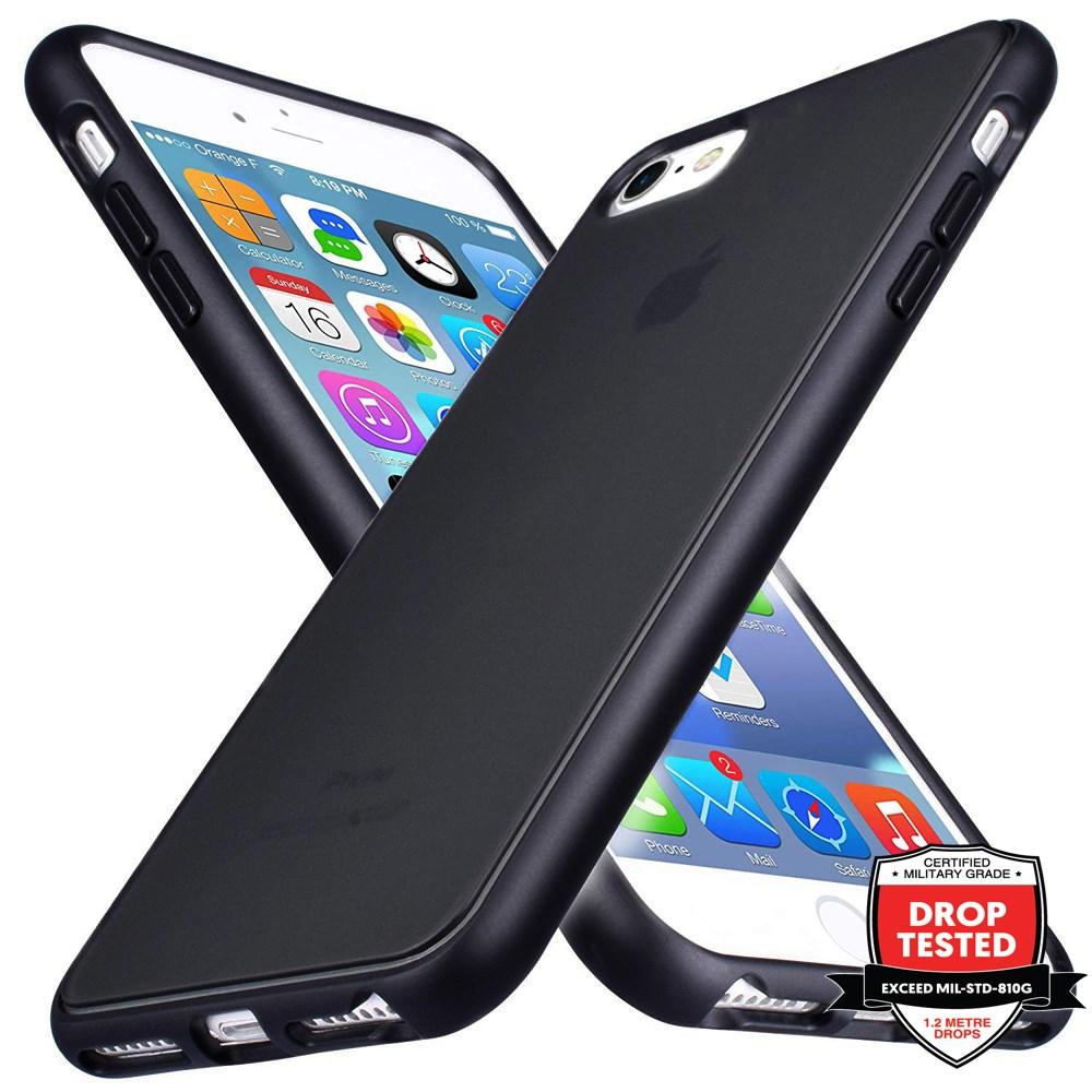 Xquisite Matte Air Black Case iPhone 8/7/6s/6/SE