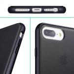 Xquisite Matte Air Black iPhone 8+/7+/6s+/6+