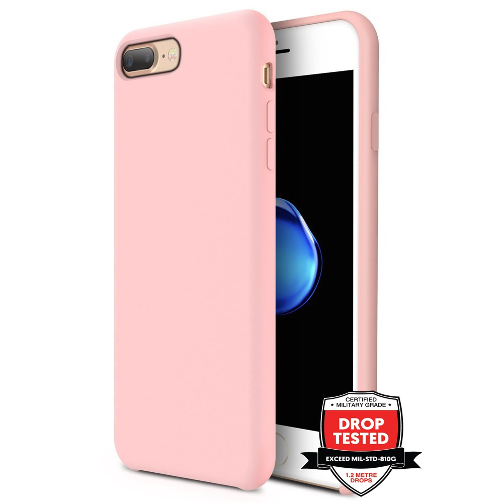 Xquisite Silicone for iPhone 8/7 Plus - Pink