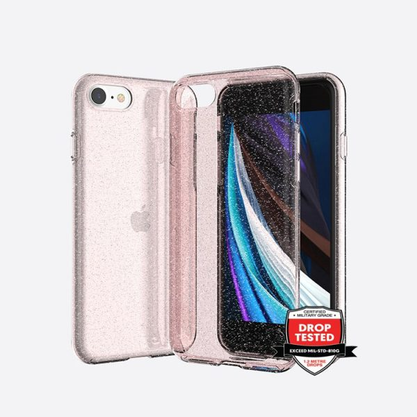 Xquisite Stardust for iPhone SE/8/7 - Pink