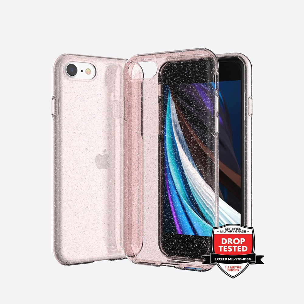 Xquisite Stardust for iPhone XR - Pink
