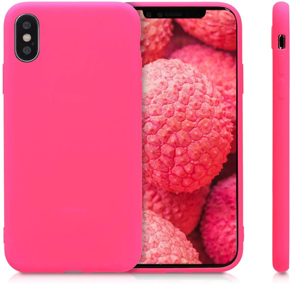 Xquisite Silicone for iPhone XS/X - Hot Pink