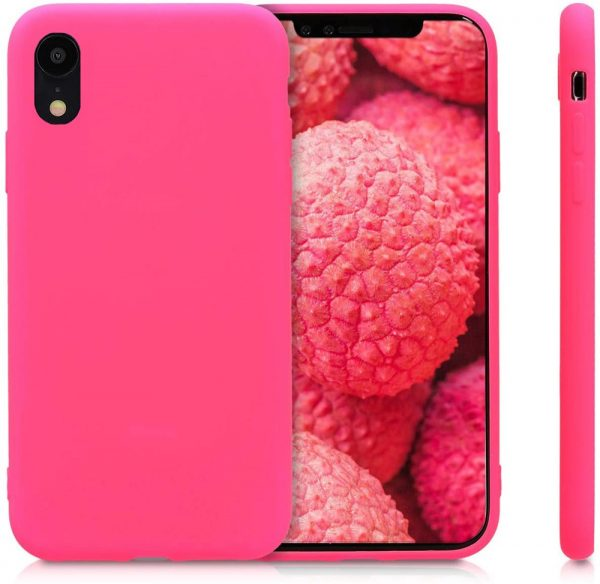 Xquisite Silicone for iPhone XR - Hot Pink