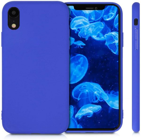 Xquisite Silicone for iPhone XR - Neon Blue