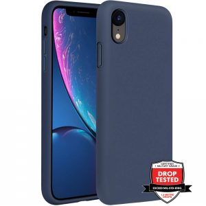 Xquisite Silicone for iPhone XR - Navy