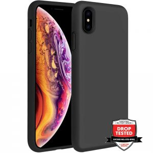 Xquisite Silicone for iPhone XS Max - Black