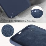 Xquisite Silicone for iPhone XS Max - Navy