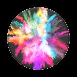 Pop Sockets - Colour burst Gloss PopGrip